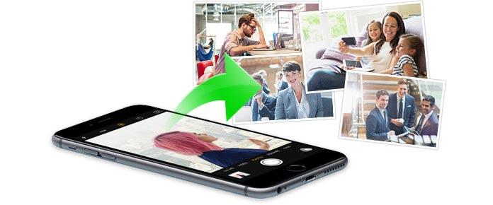 scendere foto iPhone