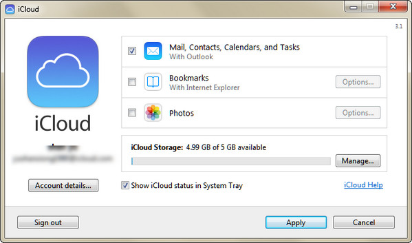 how to get to icloud settings iphone 5c