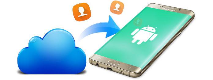 Trasferisci i contatti iCloud su Android