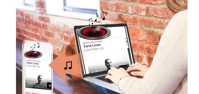 Importa musica su iPod