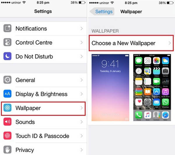 How To Change Iphone Wallpaper To Any Photos