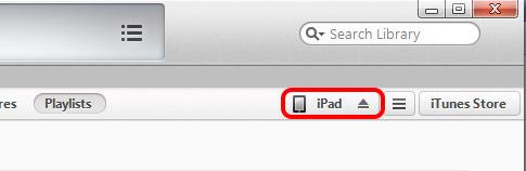 iTunes per il backup dei contatti iPhone