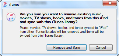 how to move songs from itunes to ipad