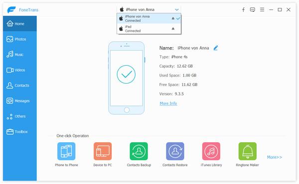 Συγχρονίστε το iPhone με το iPad