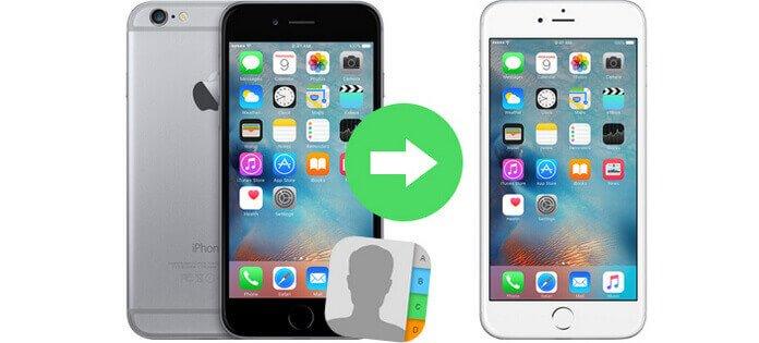 Overdracht van contacten van iPhone naar iPhone