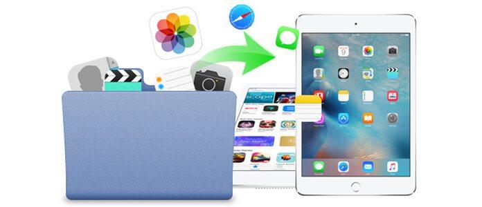 Trasferisci file su iPad