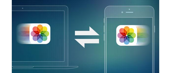 Prześlij zdjęcia między iPhonem a komputerem