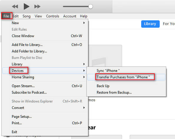Transfer ringtones to iTunes