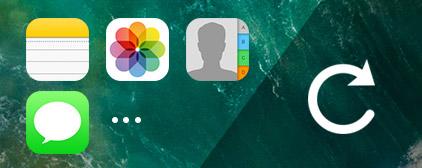 Eseguire il backup dei dati iOS