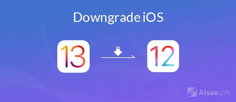 downgrade iOS
