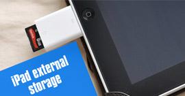 Archiviazione esterna iPad