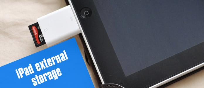 iPad Externí úložiště