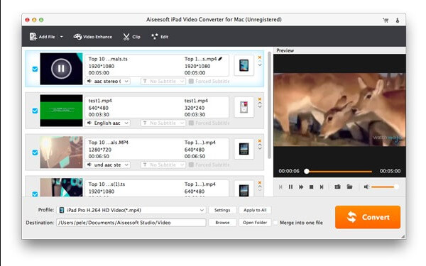Mac iPad Video Converter
