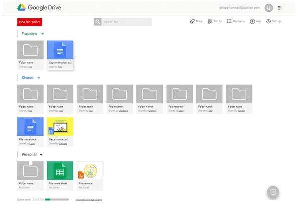 Przenieś pliki iPada za pomocą Dysku Google