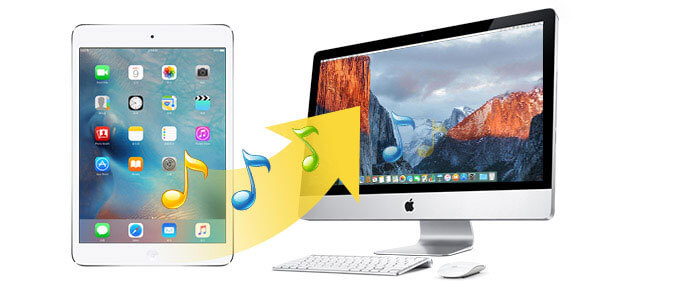 trasferire musica iPad su Mac