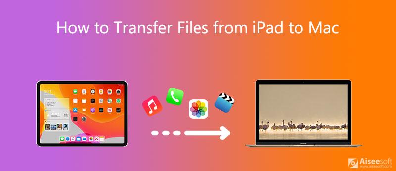 Μεταφορά αρχείων από iPad σε Mac