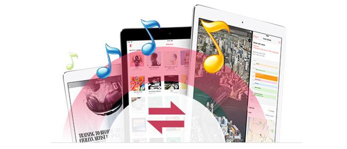 trasferire musica iPad su iPad
