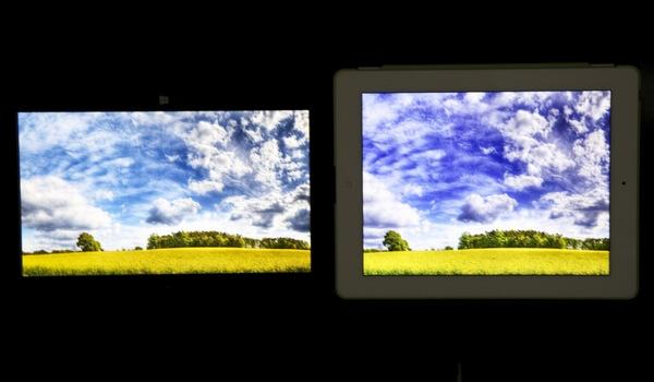 Επιφάνεια iPad VS