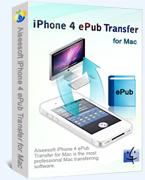 iPhone 4 ePub Transfer for Mac box