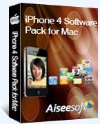 iPhone 4 Software Pack for Mac box