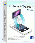 iPhone 4 Transfer for Mac box
