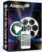 iPhone 4S Video Converter for Mac box