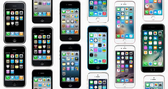 What Are the First Generations of iPhone