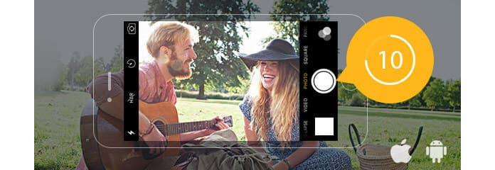 Χρονοδιακόπτης κάμερας iPhone