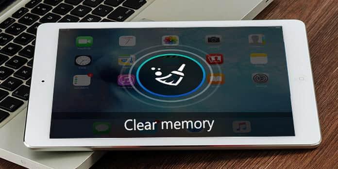 Εκκαθάριση μνήμης iPad