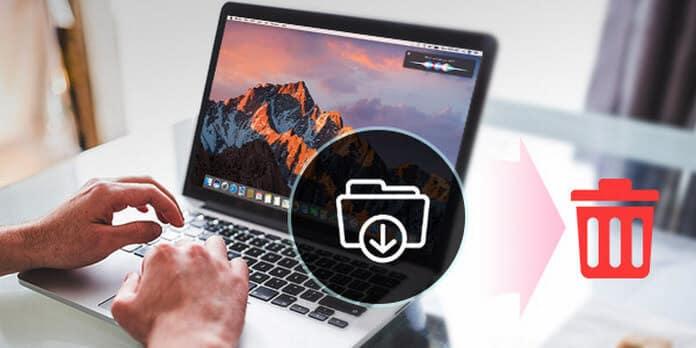Διαγραφή λήψεων σε Mac
