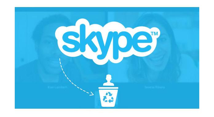 Διαγραφή επαφών Skype από το iPad