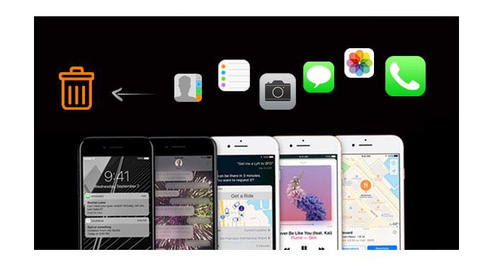 Cancella tutti i dati di iPhone