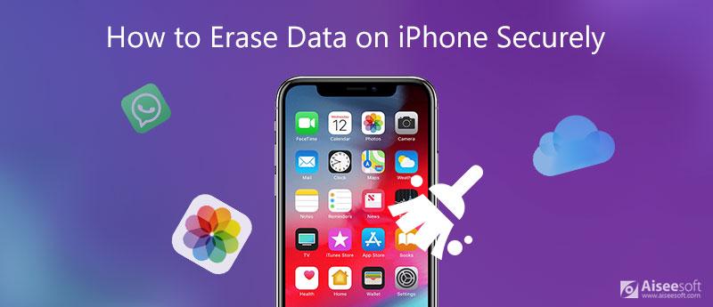 Jak bezpiecznie wymazać dane z iPhone'a