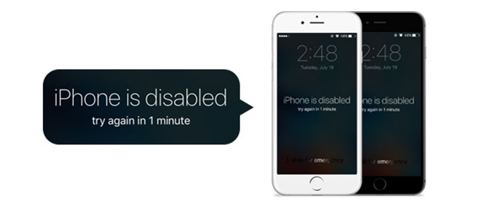 Fix Disabled iPhone