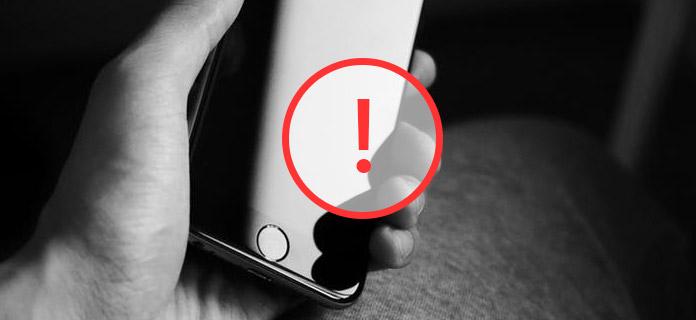 iPhone-scherm werkt niet