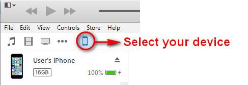 Επιλέξτε συσκευή iOS