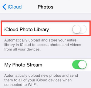 How to Free Up Storage on iPhone - turn on iCloud Photo Library
