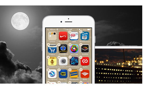 Disinstallare le app per iPhone