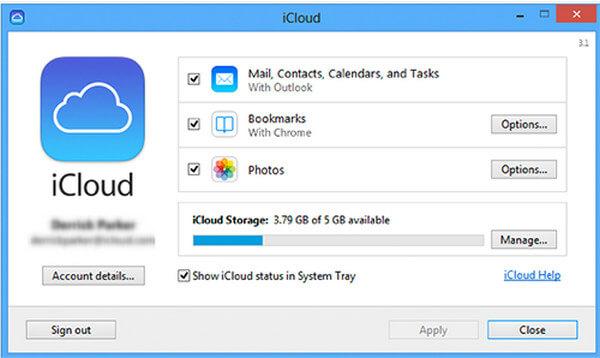 Calendario iCloud dal browser online