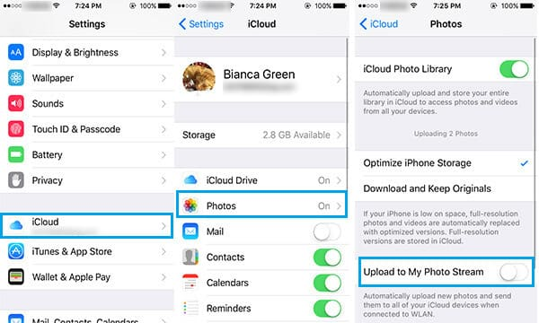 How to Retrieve Photos from iCloud on iPhone