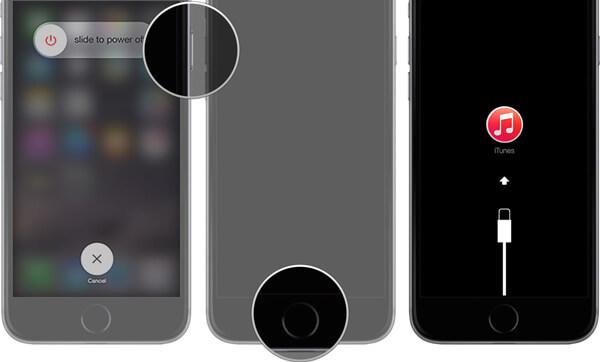 iPhone uvízl v režimu Apple Logo DFU