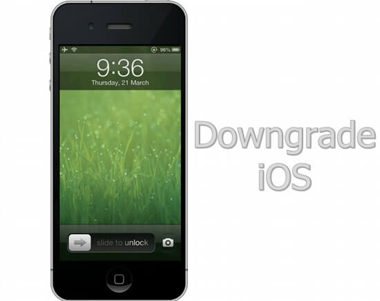 Esegui il downgrade di iOS per Bricked iPhone Fix