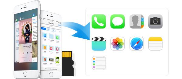 Εξαγωγή δεδομένων από το iPhone Backup
