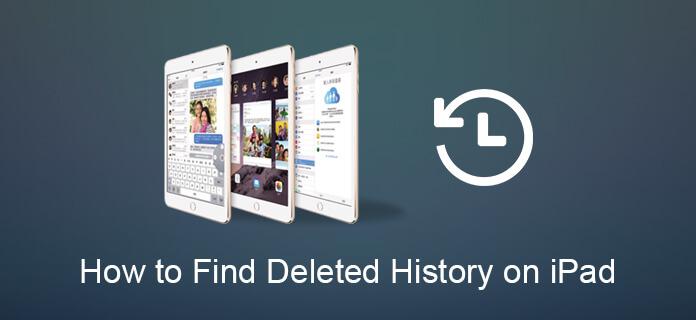 Trova cronologia eliminata su iPad