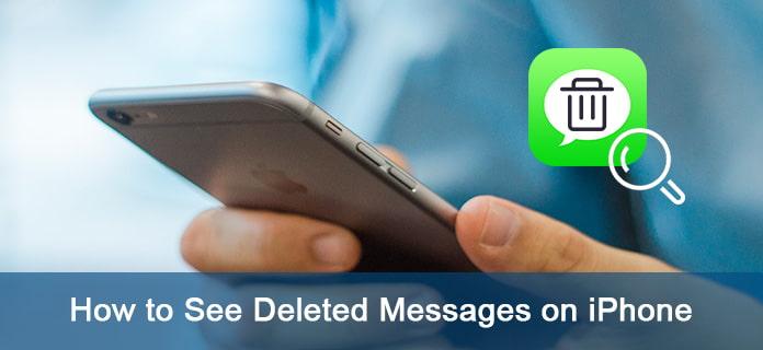Jak zobrazit smazané textové zprávy na iPhone