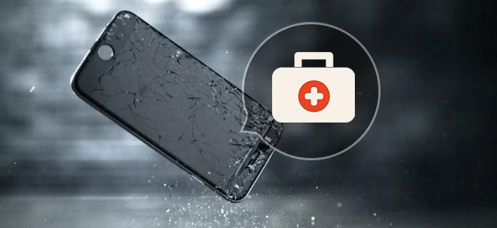Πώς να καθορίσει την οθόνη Cracked iPhone