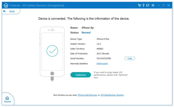Scarica il firmware dell'iPhone