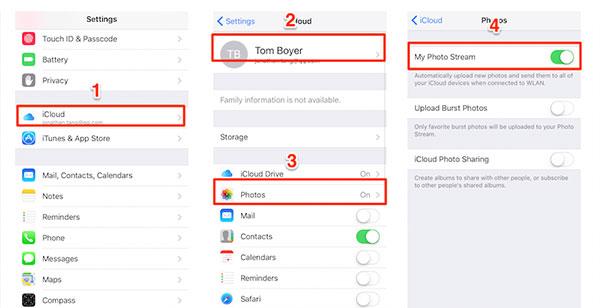 Uzyskaj dostęp do zdjęć iCloud na urządzeniach z iOS