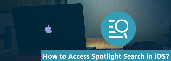 Πρόσβαση στην Αναζήτηση Spotlight στο iOS 7