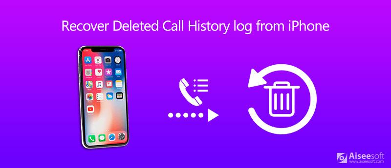 Ripristina cronologia / registro chiamate cancellate da iPhone